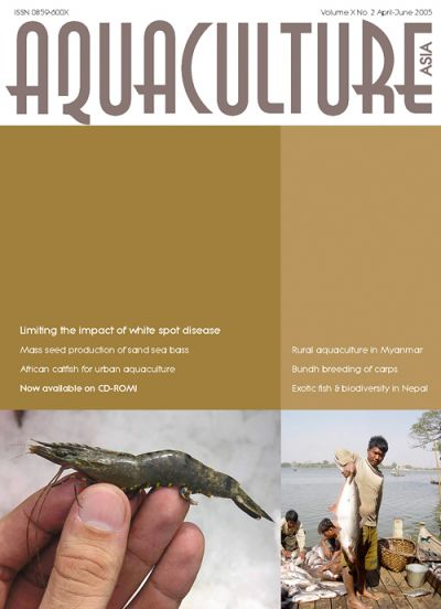 Aquaculture Asia Magazine, April-June 2005