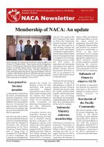 NACA Newsletter Volume XVII, No. 3, July-September 2002