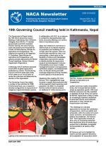 NACA Newsletter Volume XXIII, No. 2, April-June 2008