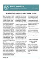 NACA Newsletter Volume XXIV, No. 2, April-June 2009