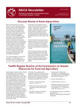 NACA Newsletter Volume XXIV, No. 4 October-December 2009