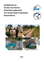 Guidebook on farmer-to-farmer extension approach for small-scale freshwater aquaculture