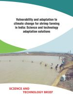 Science brief: Vulnerability and adaptation to climate change for shrimp farming in India