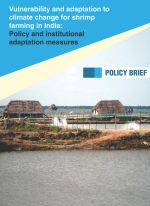Policy brief: Vulnerability and adaptation to climate change for shrimp farming in India