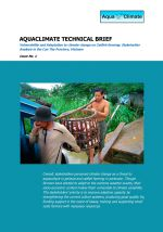 Technical brief: Vulnerability and adaption to climate change impacts on catfish farming in Vietnam