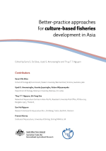 Better-practice approaches for culture-based fisheries development in Asia