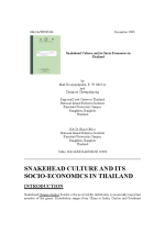 Snakehead culture and its socio-economics in Thailand