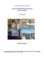 Report of the Striped Catfish BMP Cluster Management Workshop, Can Tho, Vietnam