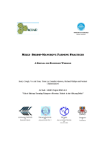 Mixed shrimp-mangrove farming practices: A manual for extension workers
