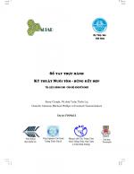 Sổ tay thực hành: Kỹ thuật Nuôi tôm - rừng kết hợp: Tài liệu dành cho cán bộ khuyến ngư