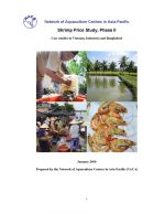 Shrimp price study, phase II: Case studies in Vietnam, Indonesia and Bangladesh