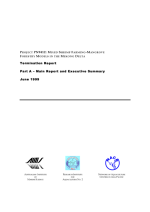 Mixed shrimp farming-mangrove forestry models in the Mekong Delta: Termination report
