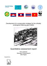 Development of a conservation strategy for the critically endangered Mekong giant catfish: Quantitative assessment report