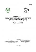 Quarterly Aquatic Animal Disease Report, April-June 1999