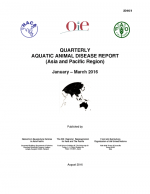 Quarterly Aquatic Animal Disease Report, January-March 2016