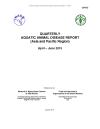Quarterly Aquatic Animal Disease Report, April-June 2015