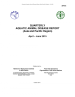 Quarterly Aquatic Animal Disease Report, April-June 2015