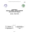 Quarterly Aquatic Animal Disease Report, January-March 2015
