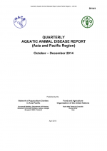 Quarterly Aquatic Animal Disease Report, October-December 2014
