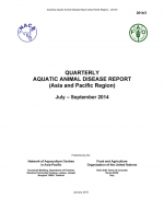 Quarterly Aquatic Animal Disease Report, July-September 2014