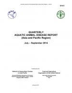 Quarterly Aquatic Animal Disease Report, July-September 2014