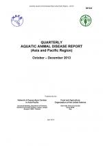 Quarterly Aquatic Animal Disease Report, October-December 2013