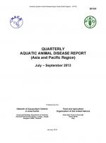Quarterly Aquatic Animal Disease Report, July-September 2013