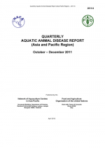 Quarterly Aquatic Animal Disease Report, October-December 2011
