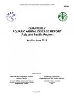 Quarterly Aquatic Animal Disease Report, April-June 2011