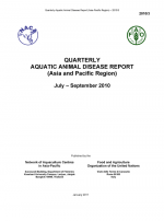 Quarterly Aquatic Animal Disease Report, July-September 2010