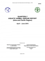 Quarterly Aquatic Animal Disease Report, April-June 2010