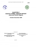 Quarterly Aquatic Animal Disease Report, October-December 2009