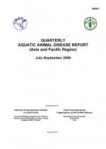 Quarterly Aquatic Animal Disease Report, July-September 2009
