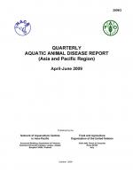 Quarterly Aquatic Animal Disease Report, April-June 2009