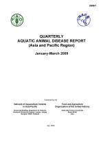 Quarterly Aquatic Animal Disease Report, January-March 2009