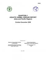 Quarterly Aquatic Animal Disease Report, October-December 2008