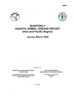 Quarterly Aquatic Animal Disease Report, January-March 2008