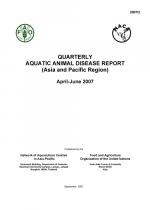 Quarterly Aquatic Animal Disease Report, April-June 2007