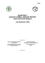 Quarterly Aquatic Animal Disease Report, July-September 2006