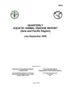 Quarterly Aquatic Animal Disease Report, July-September 2005