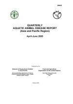 Quarterly Aquatic Animal Disease Report, April-June 2005