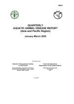 Quarterly Aquatic Animal Disease Report, January-March 2005