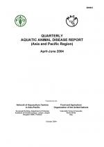 Quarterly Aquatic Animal Disease Report, April-June 2004