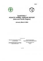 Quarterly Aquatic Animal Disease Report, January-March 2004