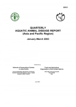 Quarterly Aquatic Animal Disease Report, January-March 2003