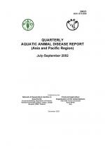 Quarterly Aquatic Animal Disease Report, July-September 2002