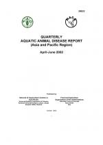 Quarterly Aquatic Animal Disease Report, April-June 2002