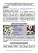 Policy brief: Self-recruiting species from farmer-managed aquatic systems - are they important to the livelihoods of rural communities?