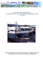 The international seafood trade: The Vietnamese shrimp trade: Livelihoods analysis of stakeholders and market chain analysis