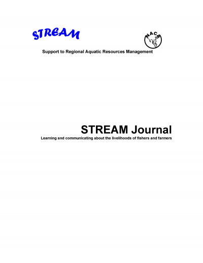 STREAM Journal Volume 5, No  1, January-March 2006